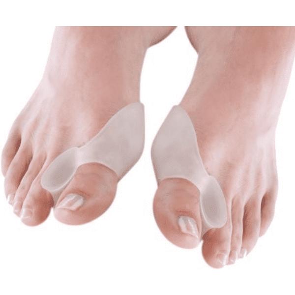 Izrađeni od mekanog gela, prijanja kao rukavica na dio stopala koji štiti. U paketu dolazi jedan par univerzalne veličina.