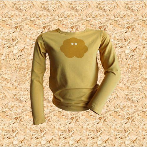 Dječja majica dugi rukav UV BEBI PITONKA žuta vel. 62 slika 1