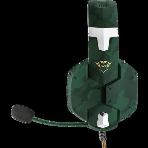 Trust gaming slušalice za PS4/PS5 GXT322 Carus maskirno zelene (20865) slika 5