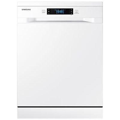 """SAMSUNG perilica posuđa DW5500MM s velikim LED zaslonom, jednostavno umetanje i pranje pribora za jelo, jednostavno podešavanje visine, opcija polovičnog punjenja, higijensko ispiranje radi uklanjanja bakterija, brzo pranje (60 minuta), Bijela boja, Performanse: 13 P/S, god.potrošnja vode 2940 ℓ, veličina 24"""", Razina buke 44 dBA, 6 programa i 5 dodatnih opcija, Aqua stop, 2 košare, cirkulacijski motor 85 W"""