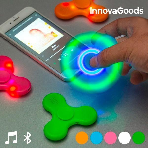 Zadivite svoje prijatelje novimLED Spinnerom s Bluetooth Zvučnikom InnovaGoods! Od sada možete uživati u svojoj omiljenoj tehnici opuštanja okruženi živopisnim LED svjetlima i svojom omiljenom glazbom. Nemojte propustiti ovaj...