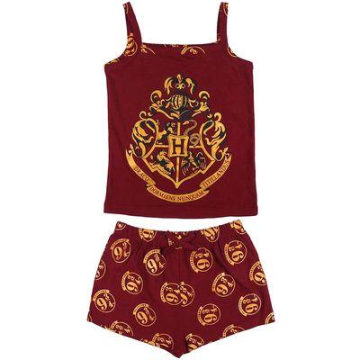 Harry Potter Hogwarts dječja pamučna pidžama Veličine: 8, 10, 12 i 14 godina