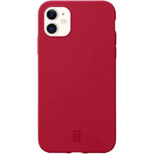 Cellularline Sensation silikonska maskica za iPhone 12 Mini crvena slika 1