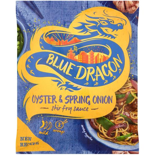 BLUE DRAGON oyster & spring onion stir-fry umak 120g slika 1