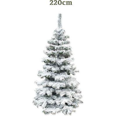 Drvce sa snježno bijelom bojom