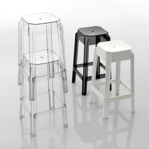 Dizajnerske barske stolice — POLY • 2 kom. slika 1