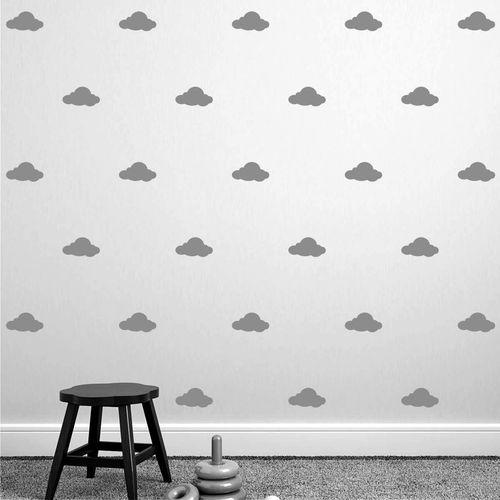 Zidne naljepnice — OBLACI • Multicolor slika 2