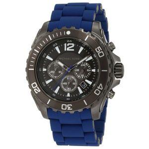 <p>Volite li biti u trendu po pitanju mode i modnih dodataka, kupite <b>Muški satovi Michael Kors MK8233 (47 mm)</b> po najpovoljnijoj cijeni.</p>Spol: MoškiPromjer kutije: 47 mmBoja tijela: Črna/ModraFunkcija: JednostavanMaterijal remena: Željezo/Sili...
