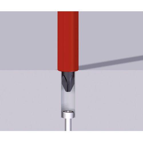 VDE križni odvijač Wiha 3241 SF 1x80 SLIM-LINE 35395 PZ 1 duljina oštrice: 80 mm DIN ISO 8764 slika 3