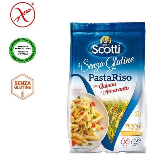 Riso Scotti - Penne od rižinog brašna, kvinoje i amaranta - bez glutena 250g slika 1