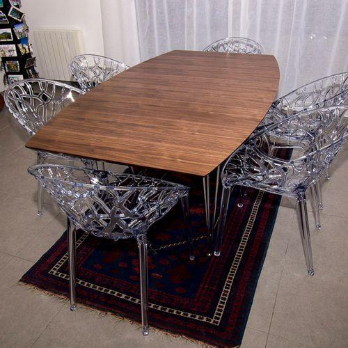 Dizajnerska stolica — POLY ROUND slika 7