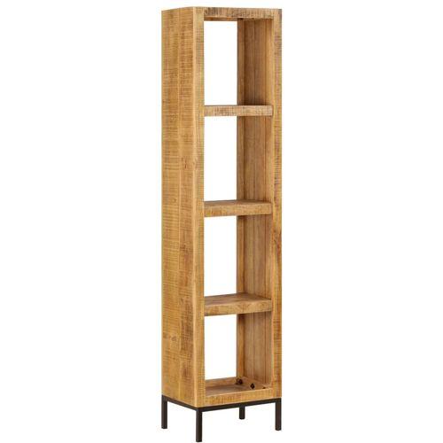 Police za knjige od masivnog drva manga 40 x 30 x 175 cm slika 10