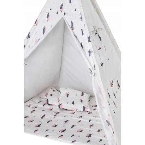 Šator s podlogom Forest - Grey / Pink slika 4