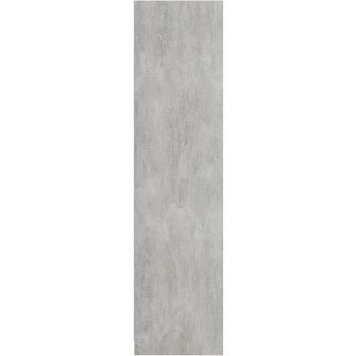 Ormar siva boja betona 100 x 50 x 200 cm od iverice slika 12