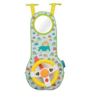 Taf Toys volan sa zvukom i svjetlom dizajniraj je kako bi zabavio malene dok putuju u autu te im omogućio da imitiraju vozača i njegove kretnje. Beba će uživati u vožnji zahvaljujući raznim zabavnim zvukovima, svjetlima, dugmićima za pritiskanje,...