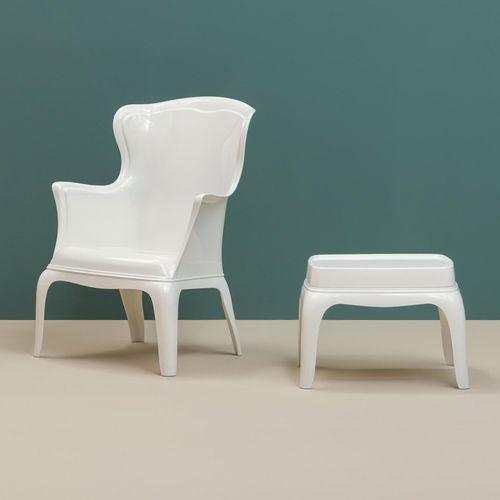Dizajnerska fotelja — POLY LOUNGE slika 11