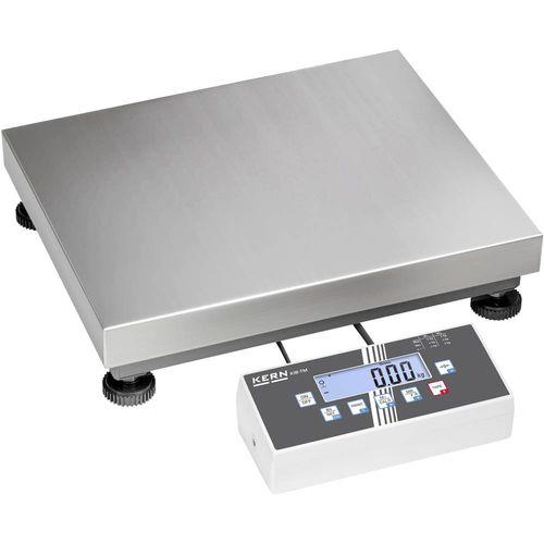 Vaga sa platformom Kern IOC-M Opseg mjerenja (kg) 150 kg Mogućnost očitanja 10 g putem utičnog punjača Višebojna slika 1
