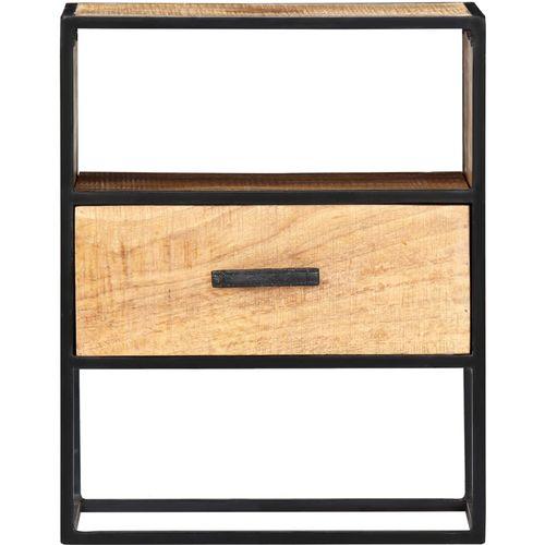 Noćni ormarić od masivnog drva manga 40 x 30 x 50 cm slika 2