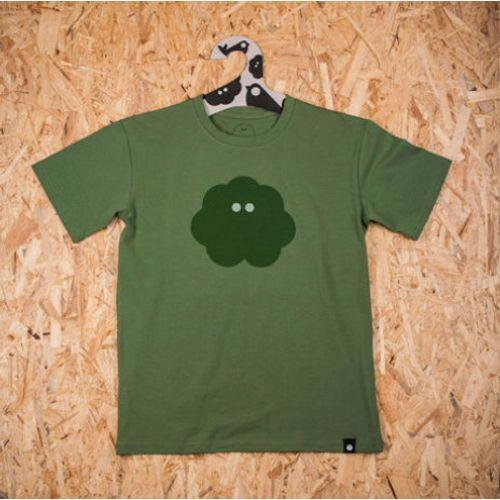 Muška majica SVAKODNEVKA S POVRĆEM zelena slika 1