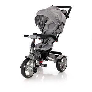 Vaše će dijete uživati u svim pogodnostima koje će mu pružiti ovaj LORELLI NEO tricikl! A i Vi ćete primijetiti da su šetnje u isto vrijeme i ugodne i aktivne.    - Sjedalo u suprotnom smjeru  - Naslon na nekoliko razina  - Košara za odlaganje  - Volan na 2 razine  - Pedale s lock sistemom  - Uklonjiva prednja prečka  - Prozorčić na kupoli