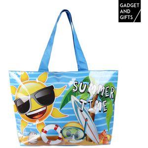 <p>Odsada možete kupiti<strong>Torbu za Plažu na Emotikone Summer Time Gadget and Gifts</strong>, vrlo originalnu<strong>torbu za plažu</strong>uzkoju ćete uživati na bazenu, plaži ili u planinama.</p>Dimenzije cca: 48x 35x 14 cmSastav: 100 % pol...