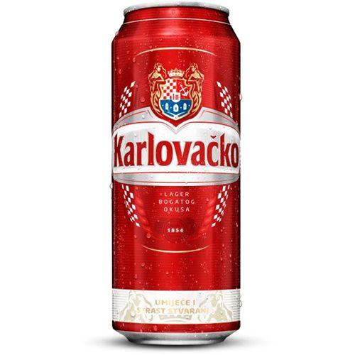 Karlovačko svijetlo pivo 0,5 l limenka slika 1