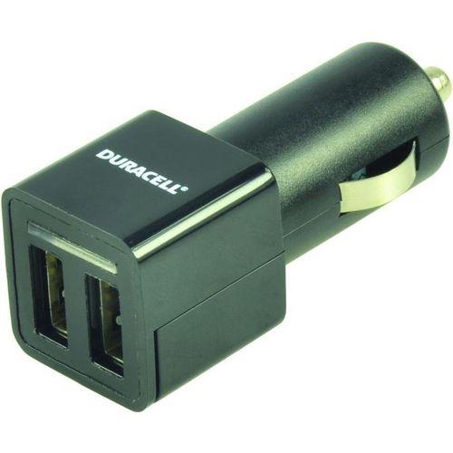 Duracell Autopunjač – Uni 2xUSB - 2.4A+2.4A – Black slika 3