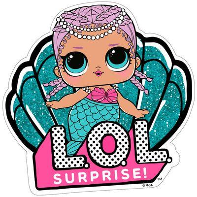 Prekrasan ručnik s likom LOL Surprise sirene oduševit će svaku djevojčicu i osigurati da je glavna frajerica na plaži.  Sastav: 100% poliester.