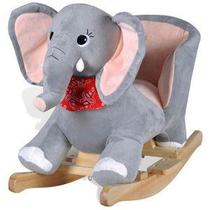 Ova visoko kvalitetna ljuljajuća igračka s prelijepim slonićem donijet će bebama utjehu i radost. Ova mekana, plišana ljuljačka bit će sigurno omiljena igračka vaših mališana. Vaša će dječica uživati, satima se ljuljajući na ovoj prekrasnoj...