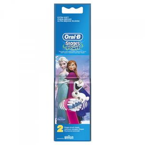 Oral-B Zamjenska glava za četkicu Kids Frozen 2 komada B10-2  Istaknute značajke proizvoda:  zamjenske glave za Frozen četkicu OB D12  pakiranje sadrži 2 zamjenske glave  dizajnirana posebno za djecu  donosi vam nježno iskustvo četkanja,zahvaljući...