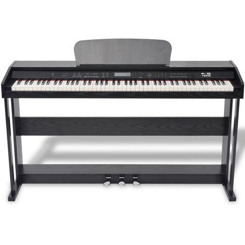Digitalni klavir s pedalama crnom melaminskom pločom i 88 tipki slika 13