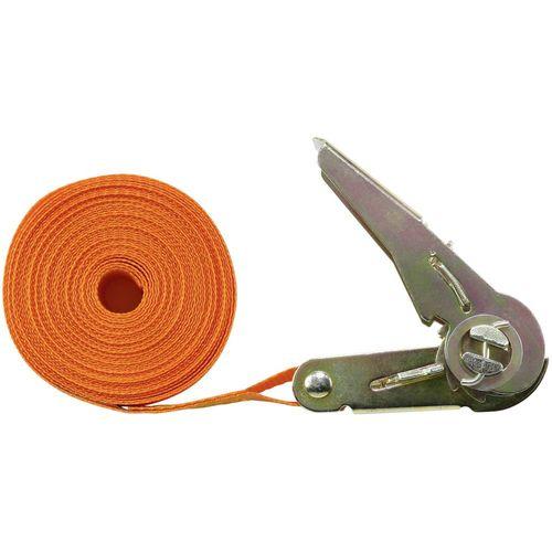Jednodijelna zatezna traka LC vučno vezivanje (pojedinačno/izravno)=350 daN (D x Š) 6 m x 25 mm TOOLCRAFT 1493502 slika 1