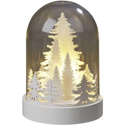 Hellum  521085 dekoracijsko svjetlo   LED   toplo bijela prozirna, bijela
