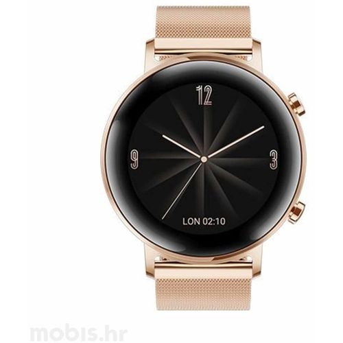 Huawei Watch GT 2, 42 MM  Zlatni slika 1