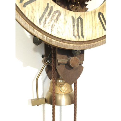 """Švicarski drveni zidni sat """"Anno 1452"""" SELVA slika 4"""