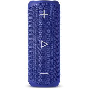 Prijenosni Bluetooth zvučnik sa DSP tehnologijom za bogatiji i dublji bas, 20W, trajanje baterije do 12h, ugrađen mikrofon za pozive, IP56 otpornost na polijevanje vodom, one Touch kontrole.