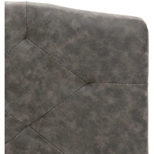 Krevet od tkanine s memorijskim madracem tamnosivi 120 x 200 cm slika 8