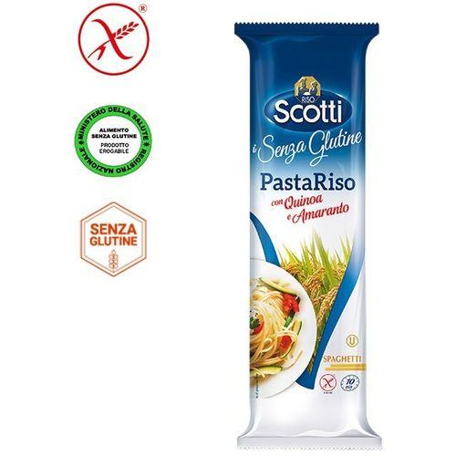 Riso Scotti – Špageti od rižinog brašna, kvinoje i amaranta-bez glutena 250g slika 1