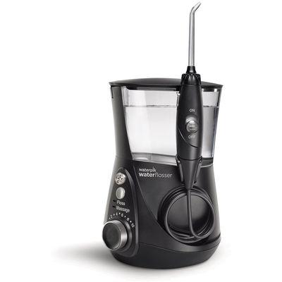 Waterpik Aquarius Professional WP-672 crne boje najnapredniji oralni tuš na tržištu s tehnologijom modulacije pulsa za maksimalno uklanjanje plaka (Floss Mode) i pojačanu stimulaciju desni za poboljšanu cirkulaciju (Hydro Pulse Massage Mode).