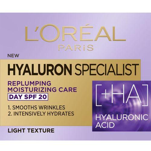 L'Oreal Paris Hyaluron Specialist dnevna hidratantna krema za vraćanje volumena 50 ml slika 2