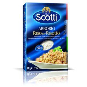Riso Scotti -Arborio   Neto masa: 1000g  Proizvođač: Riso Scotti S.p.A. Pavia, Via Angelo Scotti 2, Italija  Zemlja podrijetla: Italija  Uvjeti čuvanja: Čuvati na suhom i hladnom mjestu