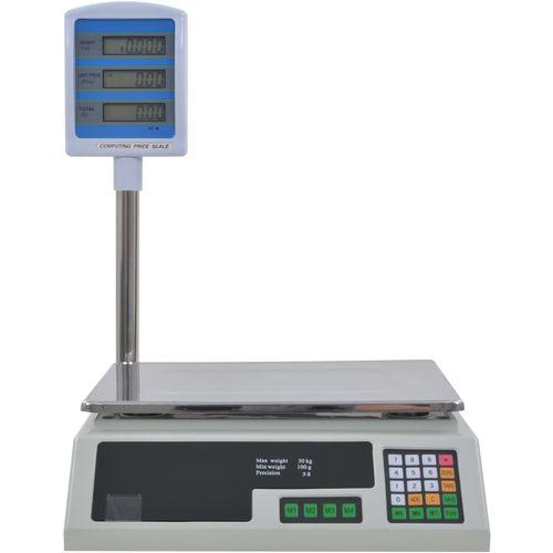 Elektronička vaga za pakete s LCD zaslonom 30 kg slika 5