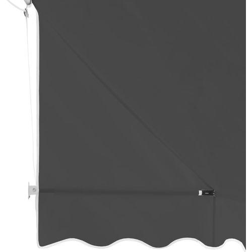 Bistro tenda 400 x 120 cm antracit slika 4
