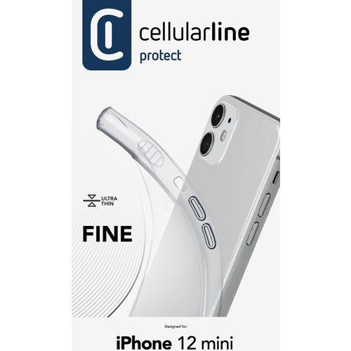Cellularline Fine silikonska maskica za iPhone 12 Mini slika 3
