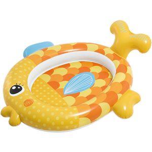 Intex dječji bazen Zlatna ribica  Dimenzije: 140x 124 x 34 cm  Dob: 1-3 god