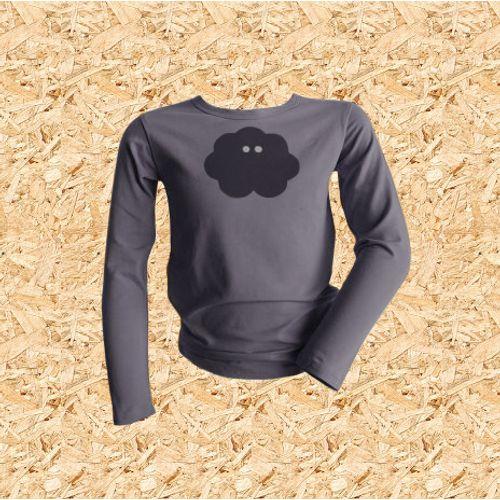 Dječja majica UV MINI PITONKA siva slika 1