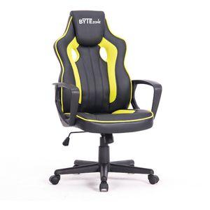 Igraća stolica BYTEZONE TACTIC olakšat će vam da sjedite satima igrajući svoju omiljenu igru. Zahvaljujući izvrsnom ergonomskom dizajnu, pruža dobru stabilnost i pravilno držanje dok sjedite.