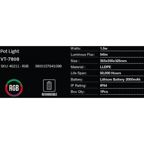 LED bežična punjiva rasvjeta — POT slika 2