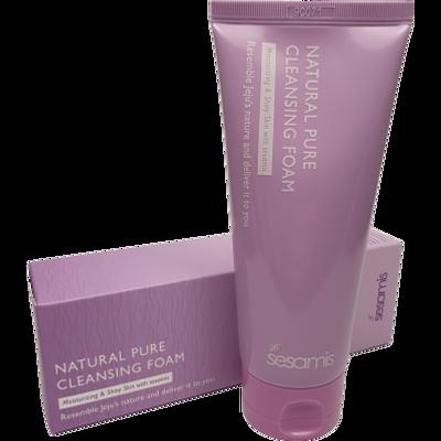 Prirodna pjena za čišćenje lica Čisti nečistoće, sebum i pore Pogodno za sve tipove kože