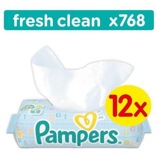Pampers Dječje vlažne maramice Fresh Clean, 12 x 64 komada slika 3